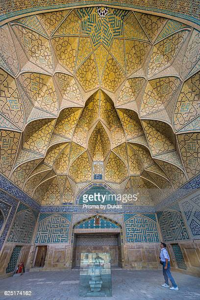 Iran Esfahan City Masjede Jame UNESCO world heritage West Iwan