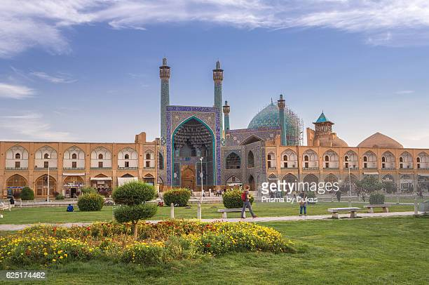Iran, Esfahan City, Naqsh-e Jahan Square, Masjed-e Shah Mosque.