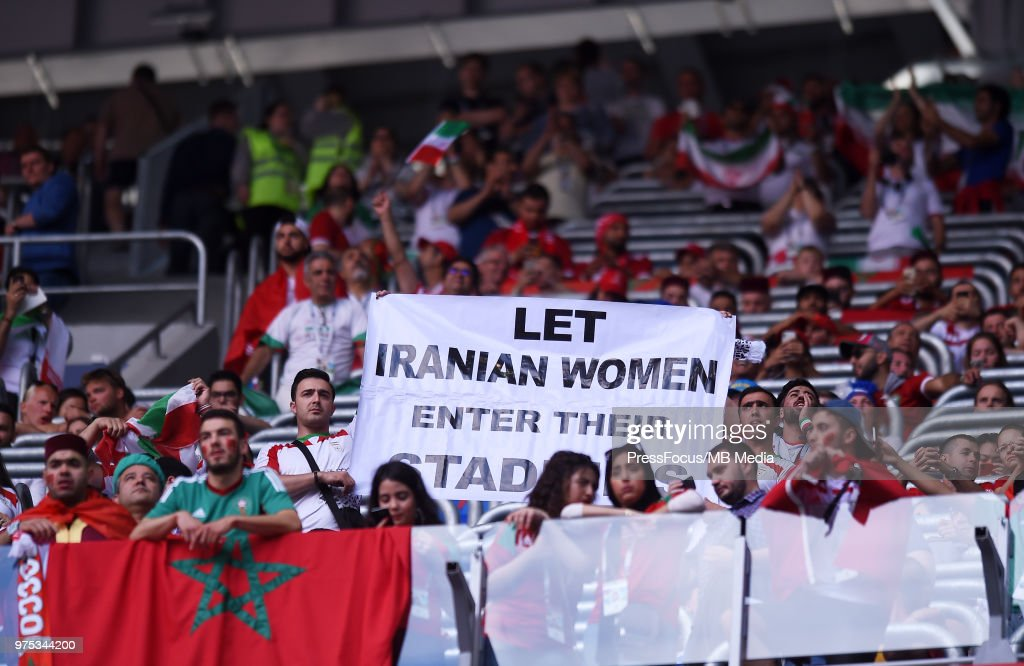 Morocco v Iran: Group B - 2018 FIFA World Cup Russia : News Photo