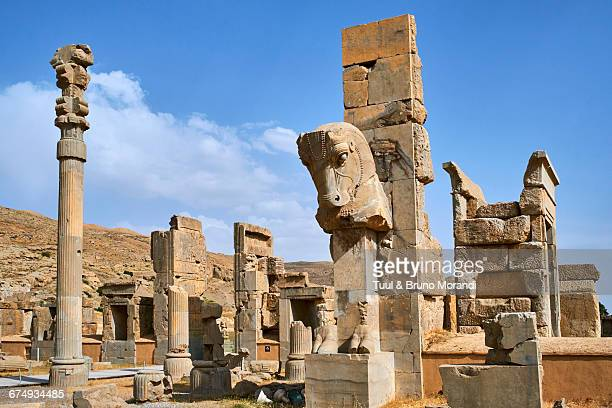 iran, fras, persepolis - persepolis stock pictures, royalty-free photos & images