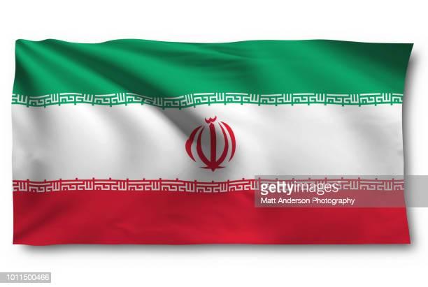 iran - iranian flag - iranian flag stock photos and pictures