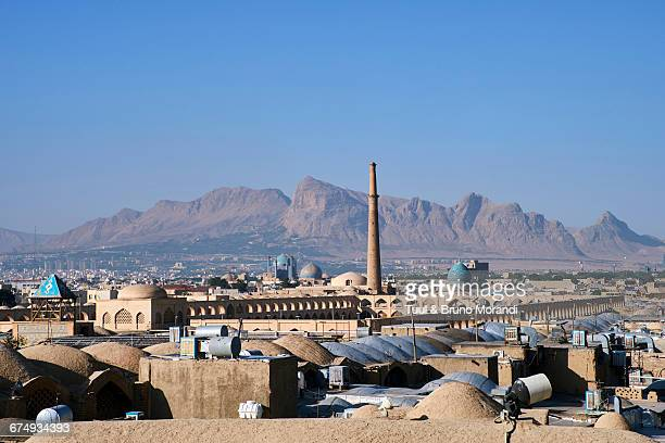 iran, isfahan, cityscape - isfahan stock pictures, royalty-free photos & images