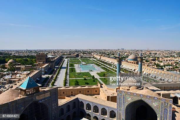 Iran, Isfahan, cityscape