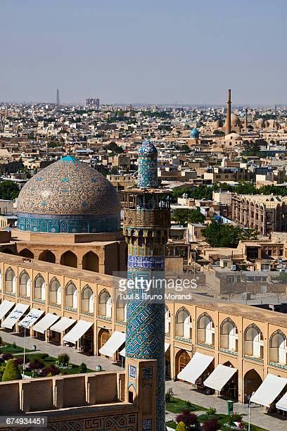 iran, isfahan, cityscape - シェイフロトフォラモスク ストックフォトと画像
