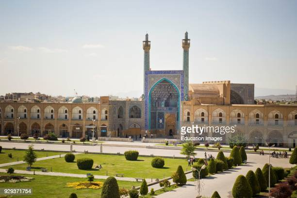 Iran, Isfahan, Imam Square, Jameh Or Friday Mosque.