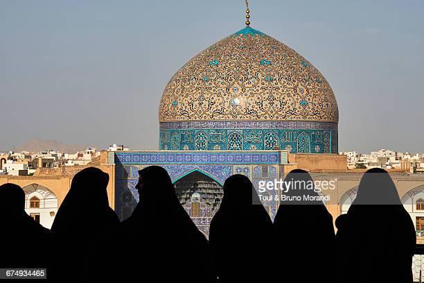 Iran, Isfahan, Sheikh Lotfollah mosque