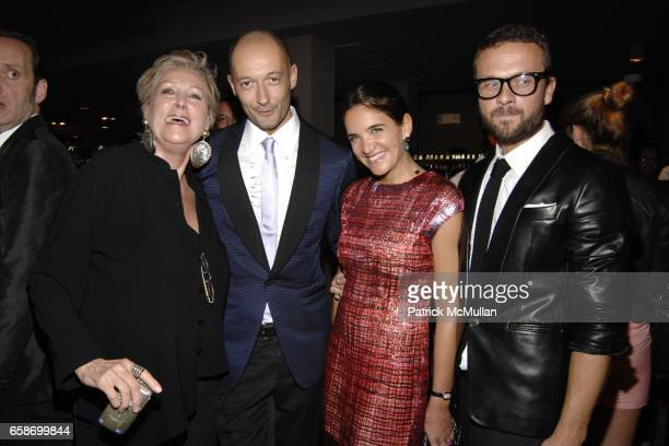 Iran IssaKhan Milan Vukmirovic Laure Heriard Dubreuil and Frederic Dechnik attend THE WEBSTER Grand Opening with Guest of Honor Solange...