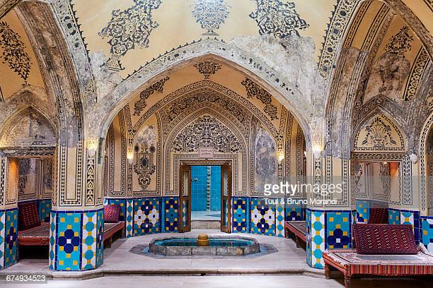 Iran, Kashan, hammam sultan Mir Ahmad