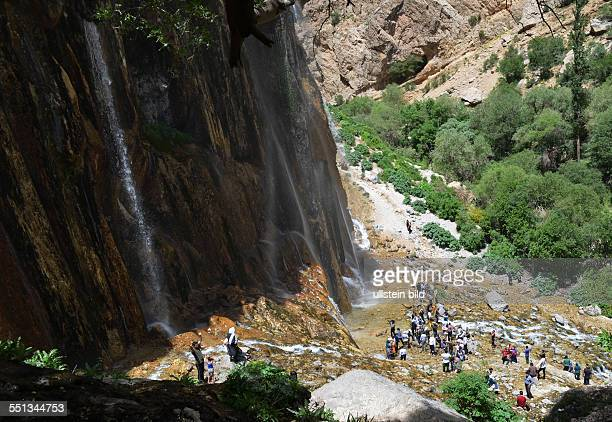 IRN Iran Margoon waterfalls