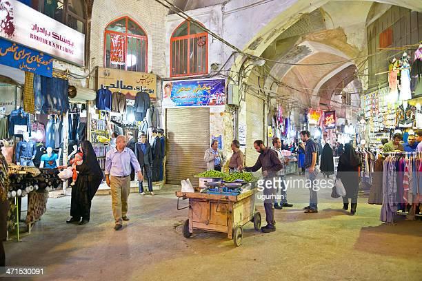 イラン - エスファハーン グランドバザール ストックフォトと画像