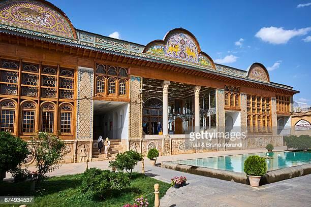 iran, shiraz,  eram garden - shiraz stock photos and pictures