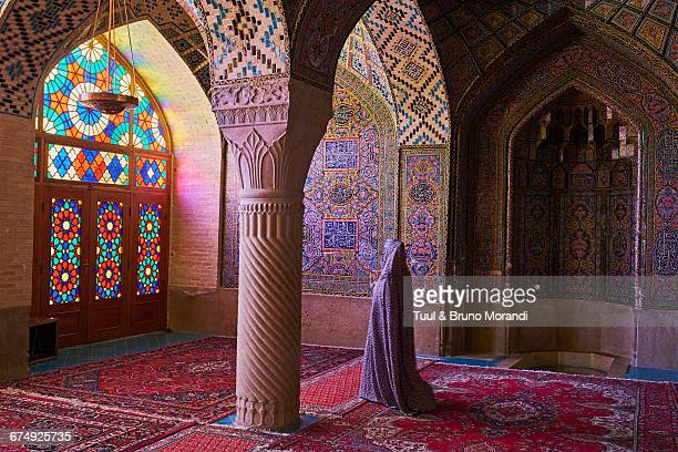 Iran, Shiraz, Nasir al Molk mosque