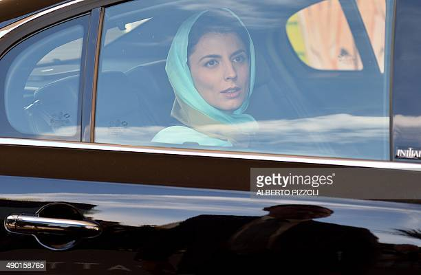 Iranian actress and member of the Feature films Jury Leila Hatami arrives at the Grand Hyatt Cannes Hotel Martinez on the eve of the 67th edition of...