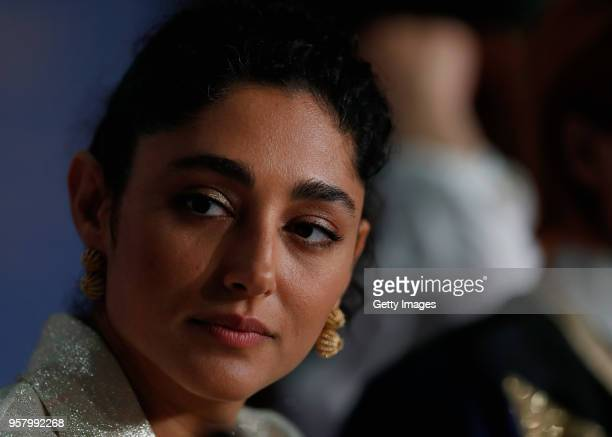 Iranian actress Golshifteh Farahani attends the press conference for 'Girls Of The Sun ' during the 71st annual Cannes Film Festival at Palais des...