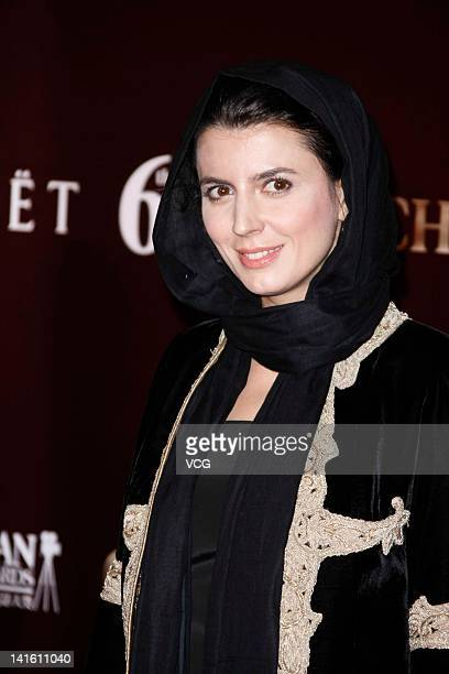 Iranian actress Leila Hatami at the red carpet during the 6th Asian Film Awards at Hong Kong Convention and Exhibition Center on March 19 2012 in...