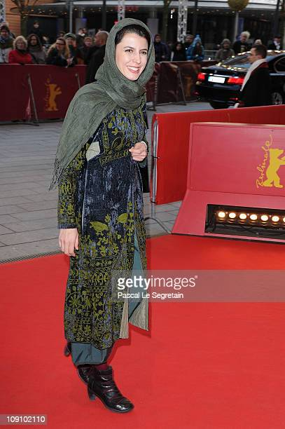 Iranian actress Leila Hatami attends the 'Jodaeiye Nader Az Simin' Premiere during day six of the 61st Berlin International Film Festival at...