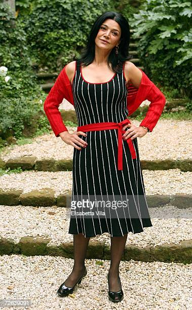 Iranian actress Shohreh Aghdasloo poses for a photocall for the film The Nativity Story at Hotel De Russie November 24 2006 in Rome Italy