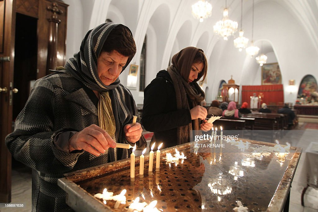 IRAN-RELIGION-CHRISTMAS : ニュース写真