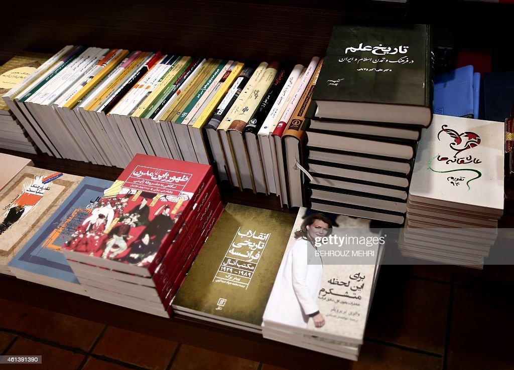 IRAN-FRANCE-BOOK-TRIERWEILER : Nachrichtenfoto