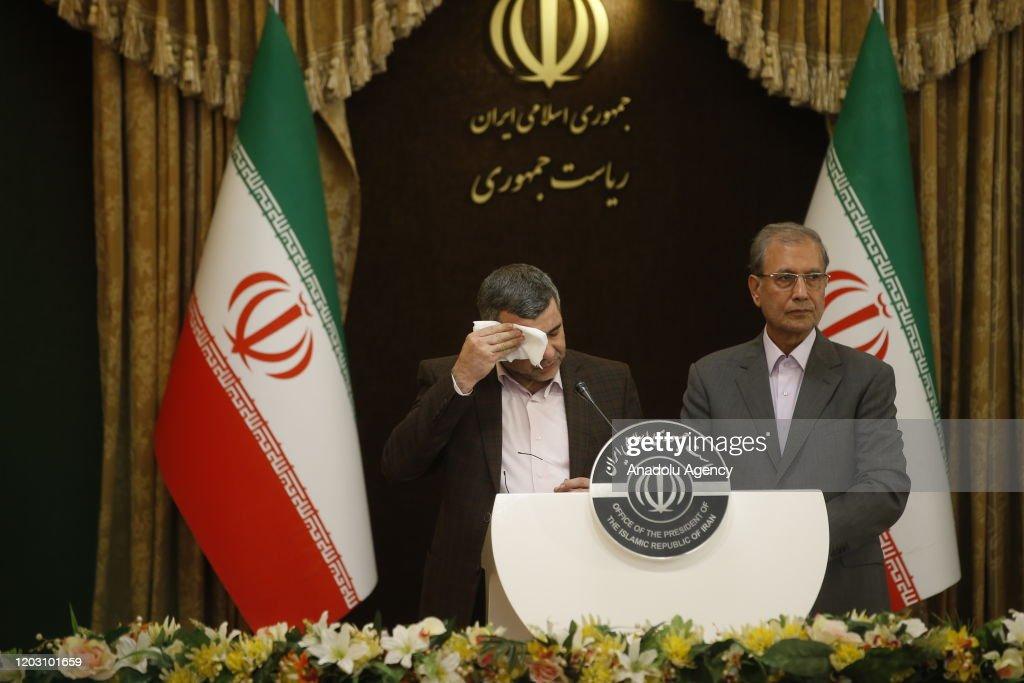 Iranian Deputy Health Minister Iraj Harirchi tests positive for coronavirus : News Photo