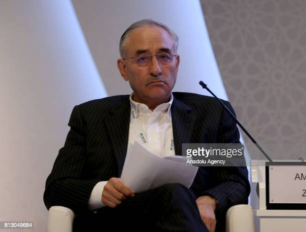 Iranian Deputy Minister of Petroleum Dr Amir Hossein Zamaninia attends the 22nd World Petroleum Congress at the Istanbul Convention Center in...