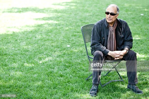 Iranian Director Abbas Kiarostami attends the photocall of movie Like Someone in Love at Rome's House of cinema
