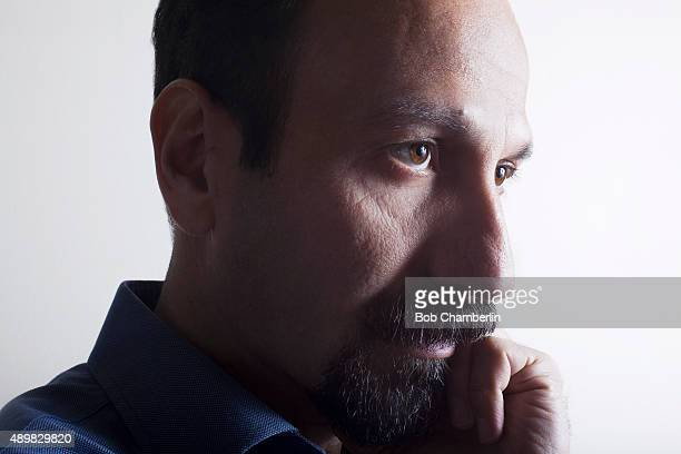 Iranian director Asghar Farhadi is photographed for Los Angeles Times on September 20 2013 in Los Angeles California PUBLISHED IMAGE CREDIT MUST READ...