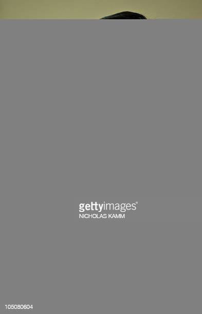 Iranian Finance Minister Shamseddin Hosseini speaks at a press conference at the Iranian interest section in Washington on October 8 2010 AFP...