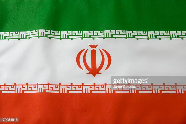 iranian flag - iranian flag stock photos and pictures