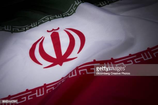 iranian flag - iran photos et images de collection