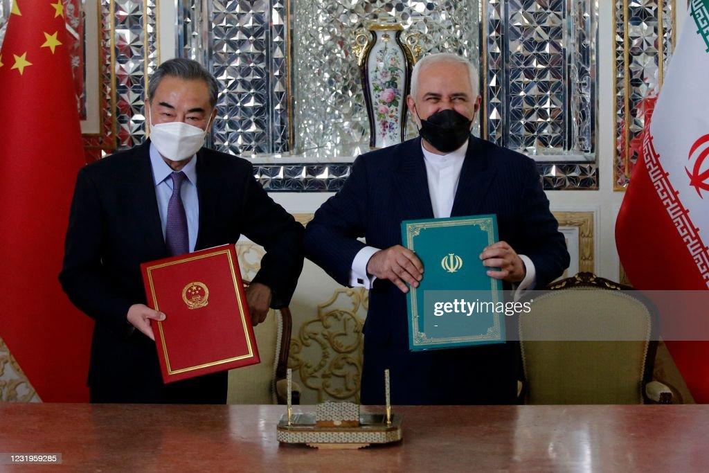 IRAN-CHINA-POLITICS-DIPLOMACY : News Photo