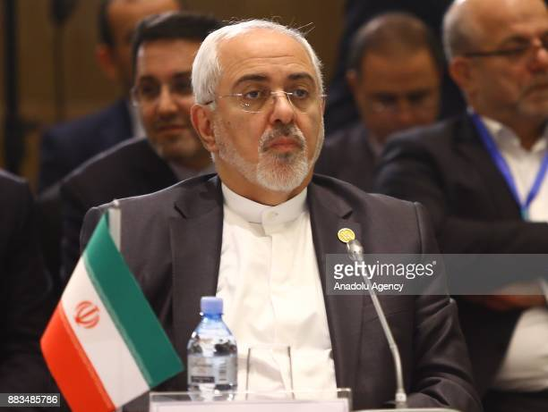 Iranian Foreign Minister Mohammad Javad Zarif attends the ''Heart of Asia Istanbul Process 7th Ministerial Conference'' in Baku Azerbaijan on...