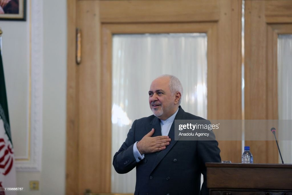 Iranian Foreign Minister Mohammad Javad Zarif : News Photo