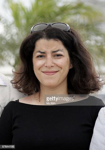 Iranian graphic novelist Marjane Satrapi attends a photocall promoting the film 'Jury Un Certain Regard' at the Palais during the 59th International...