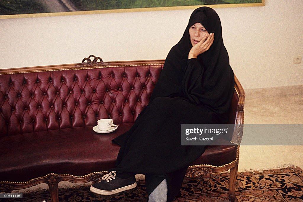 Faezeh Hashemi Rafsanjani : News Photo