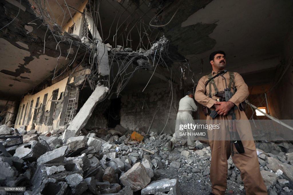 IRAQ-IRAN-KURDS-UNREST : News Photo