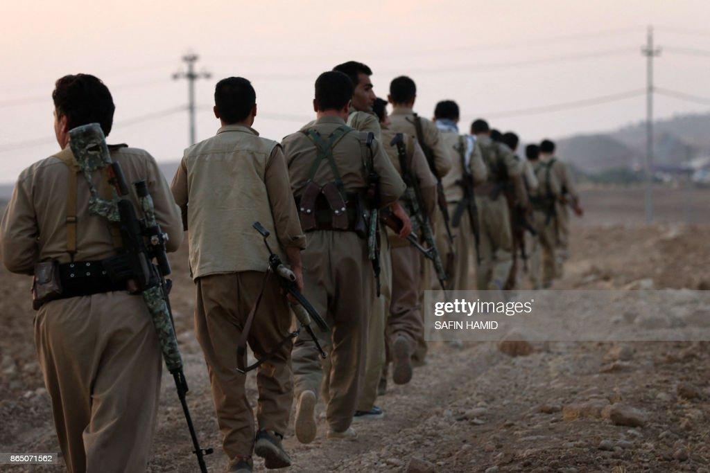 IRAQ-IRAN-KURDS-CONFLICT : News Photo