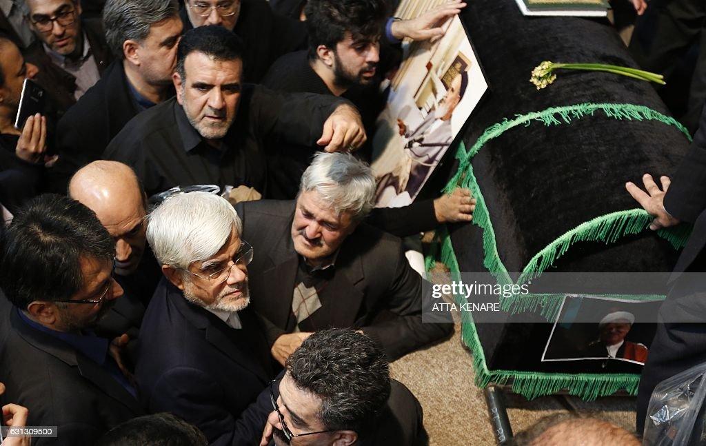 IRAN-POLITICS-RAFSANJANI : News Photo