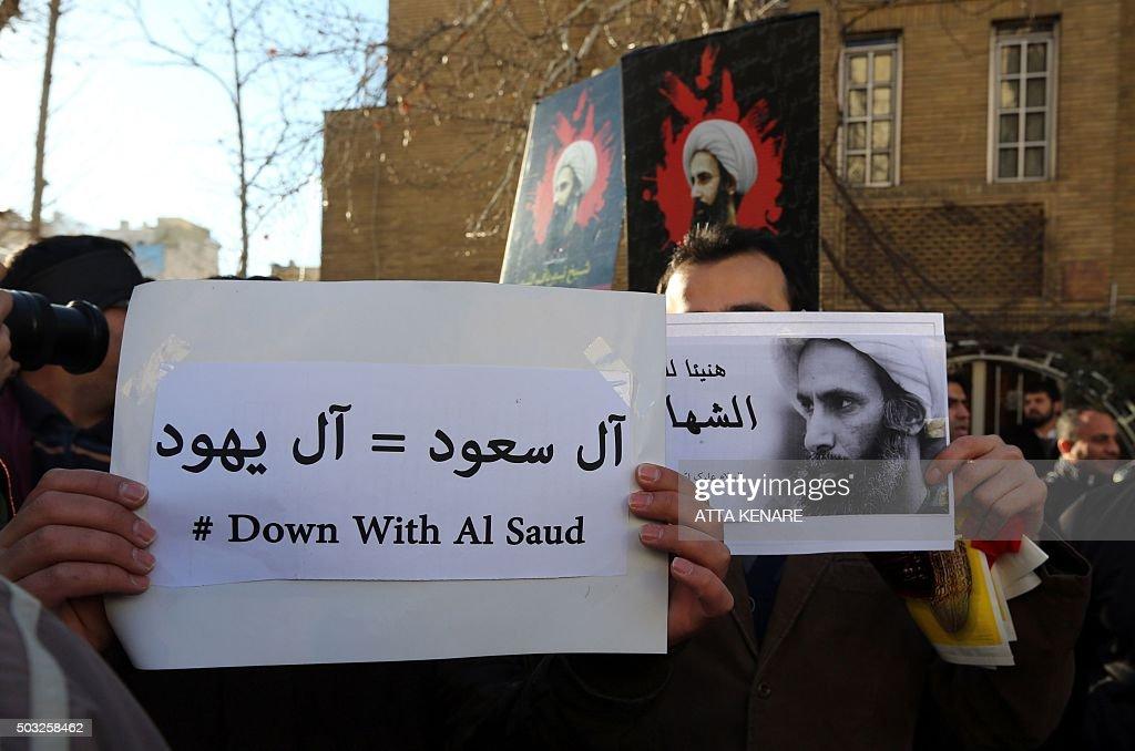 IRAN-SAUDI-EXECUTION-RELIGION-DEMO : Fotografía de noticias