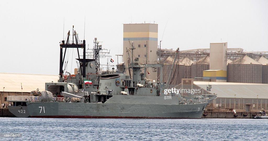 SUDAN-IRAN-MILITARY-NAVY : News Photo