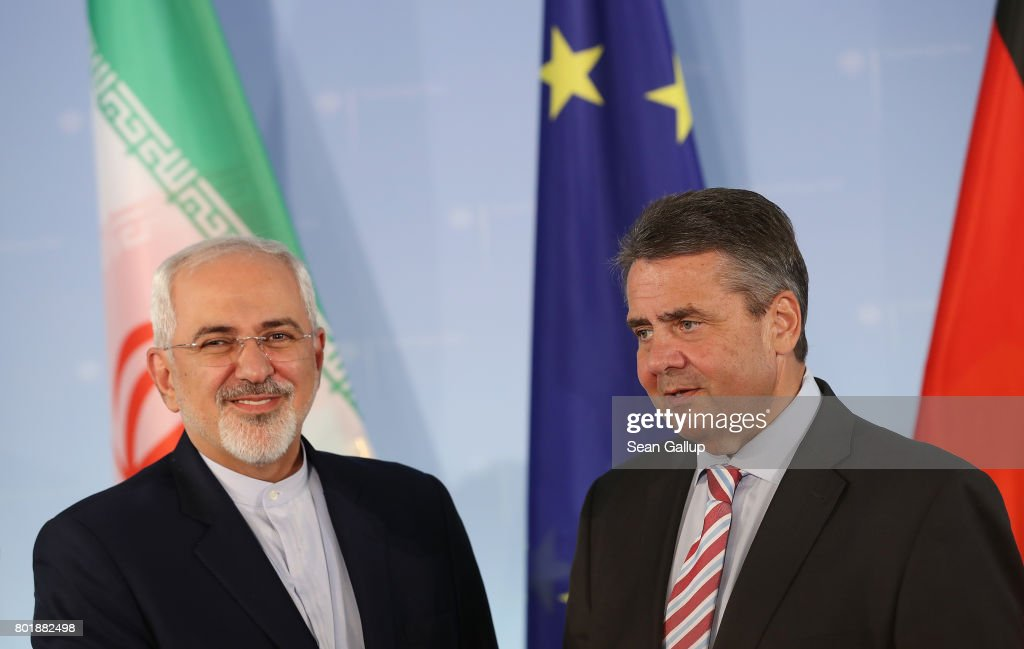 German And Iranian Foreign Ministers Discuss Nuclear Agreement