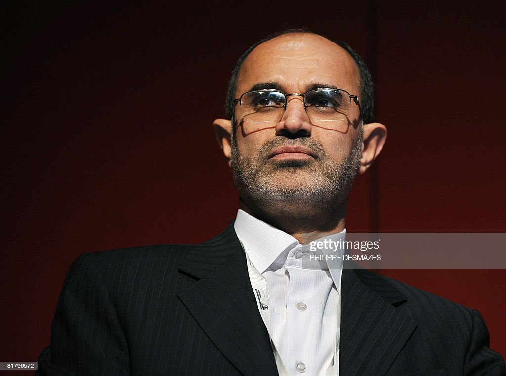Iranian Minister of Petroleum, Gholam-Ho : News Photo