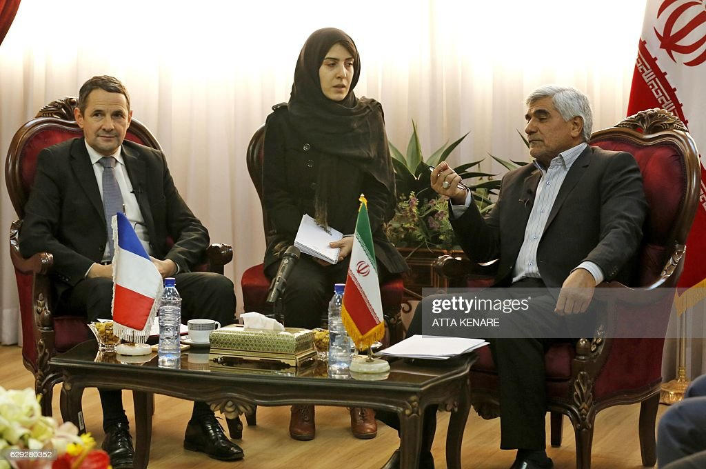 IRAN-FRANCE-DIPLOMACY-TECHNOLOGY : Nachrichtenfoto