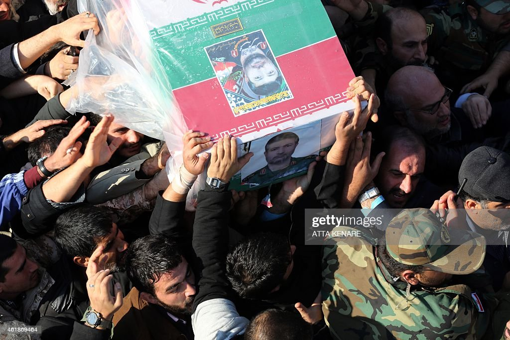 IRAN-SYRIA-ISRAEL-CONFLICT-FUNERAL : News Photo