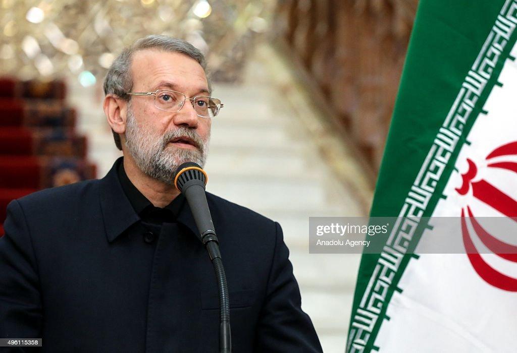 European Parliament President Martin Schulz in Tehran : News Photo