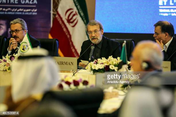 Iranian Parliamentary Speaker Ali Larijani states that Israel's policies towards the Palestinians and killing of hundreds of people in its onslaught...