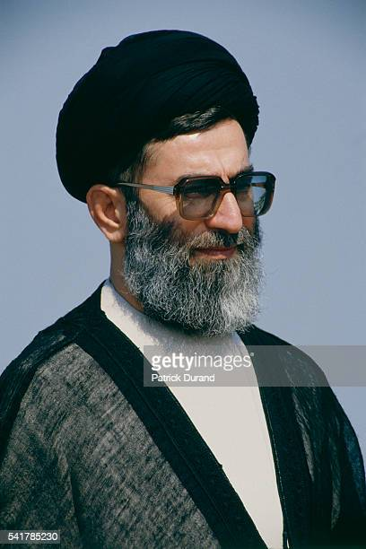 Iranian president Ali Khamenei attends the eighth Summit of NonAligned Countries Khamenei became president in 1981 after leading the Islamic...
