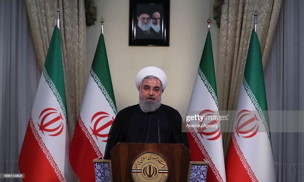 Iranian President Hassan Rouhani : Foto jornalística