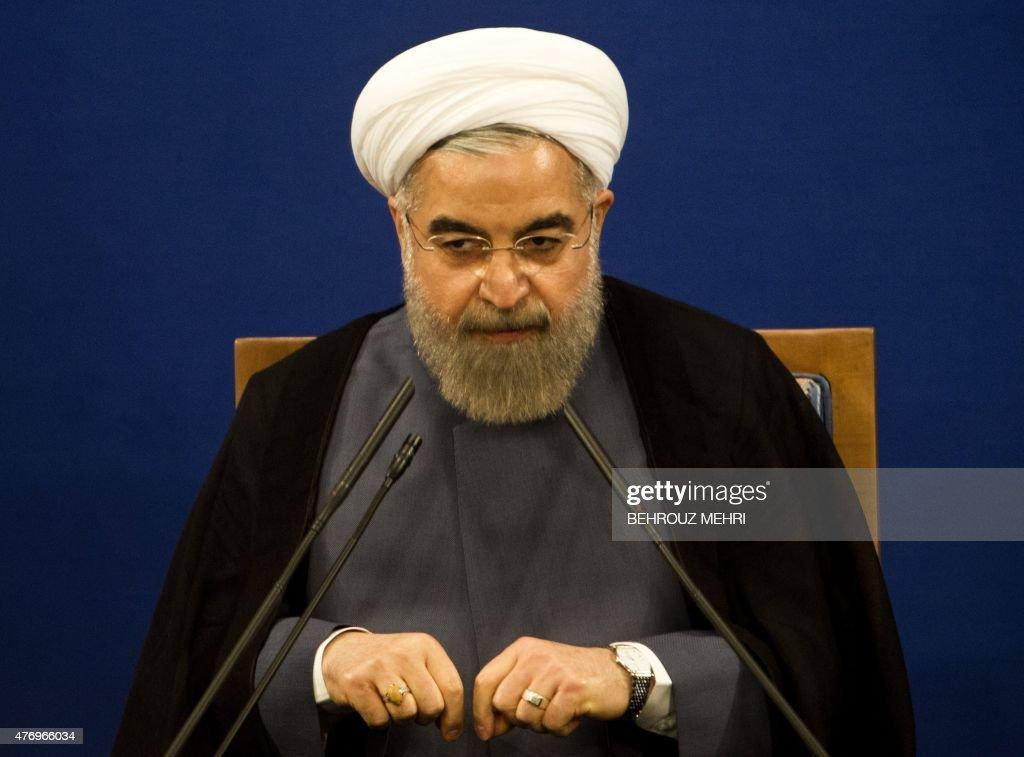 IRAN-POLITICS-ROUHANI : News Photo