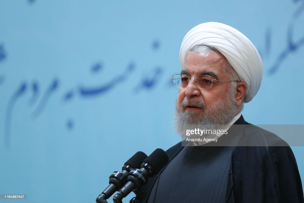 Iranian President Hassan Rouhani : News Photo